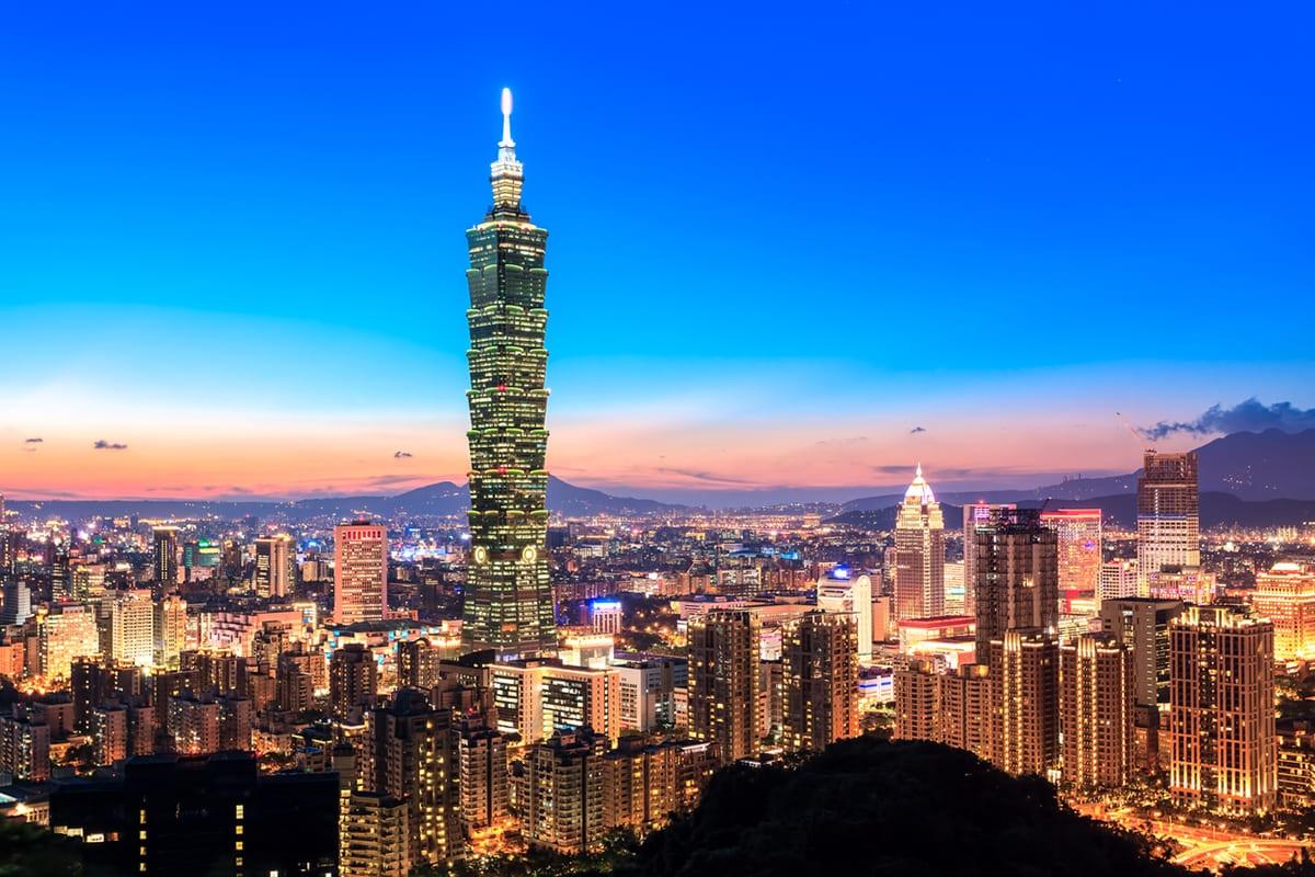 Taiwán 航空券